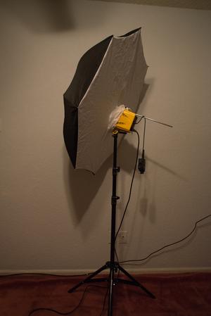 """36"""" Reflective diffused umbrella"""