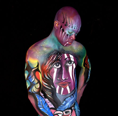 Body Painting by Artist Jen Gaita Siciliano