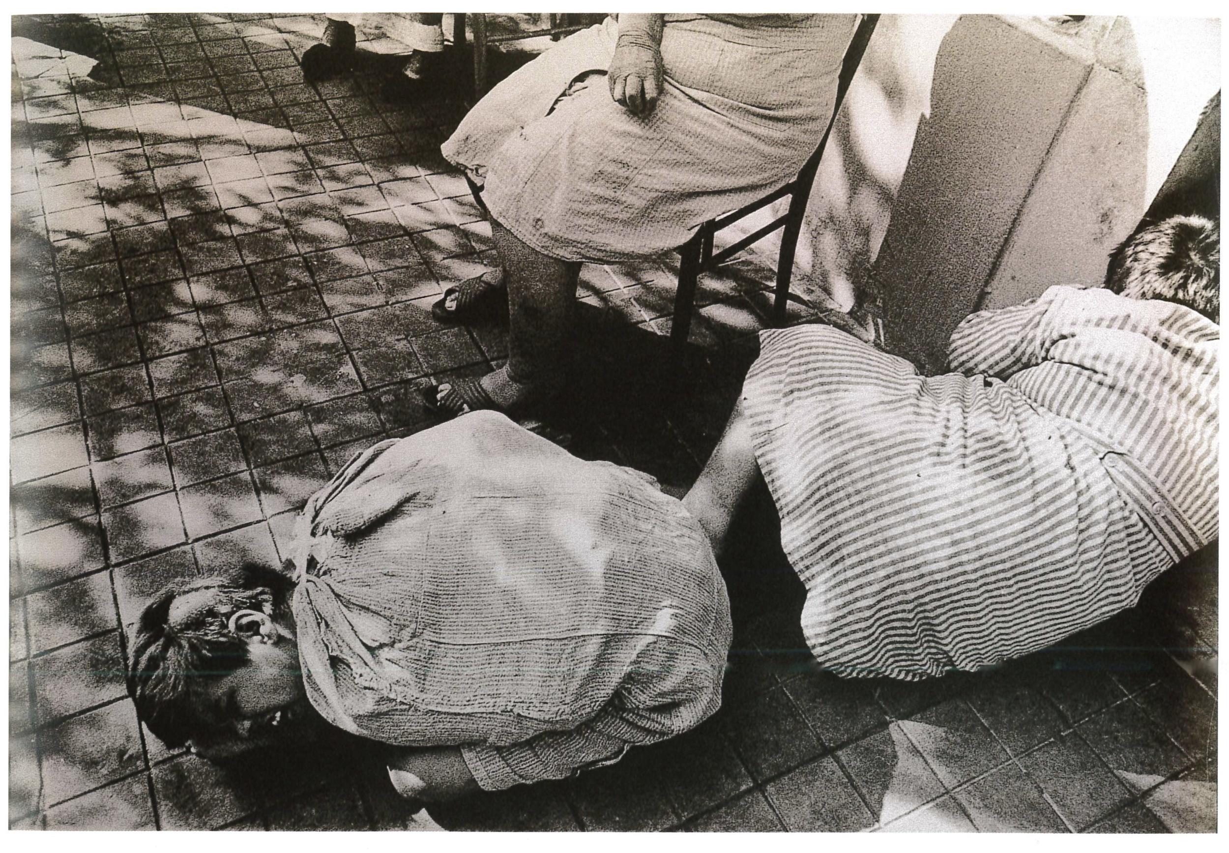 Ospedale psichiatrico. Firenze, 1968.