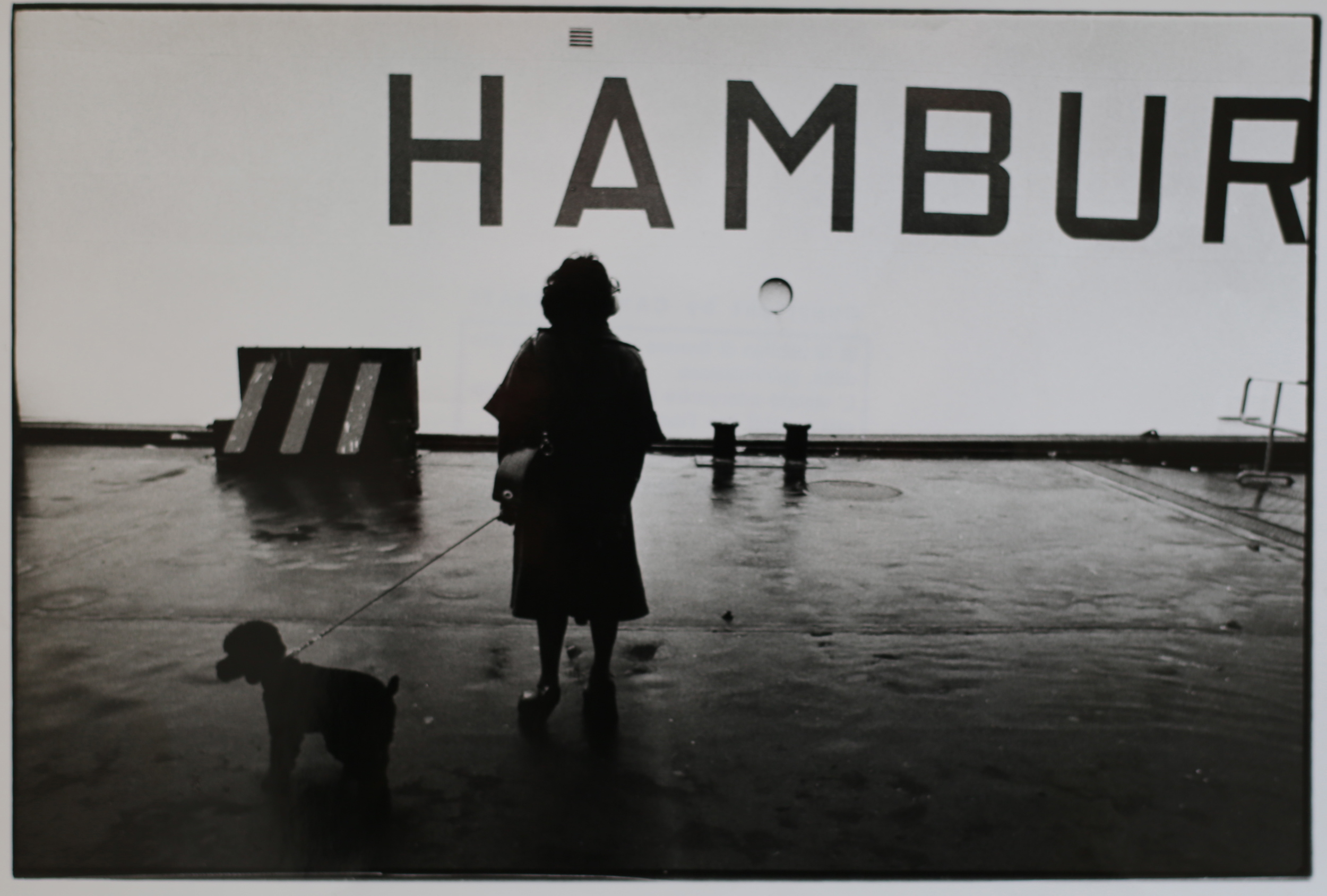 Porto imbarcadero passeggeri. Amburgo, 1975.