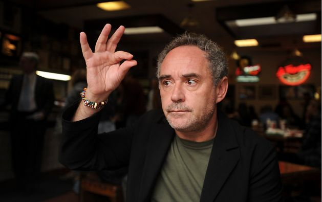 Ferran Adria Discusses Future of Food Over Lunch (October, 2011): On a culinary master and tacos