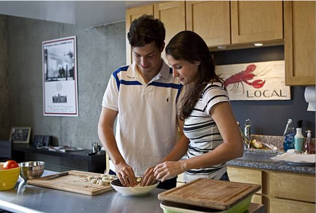 Teaching Dave: New City, Challenge for Couple (August, 2010): A beginner learns how to cook basics