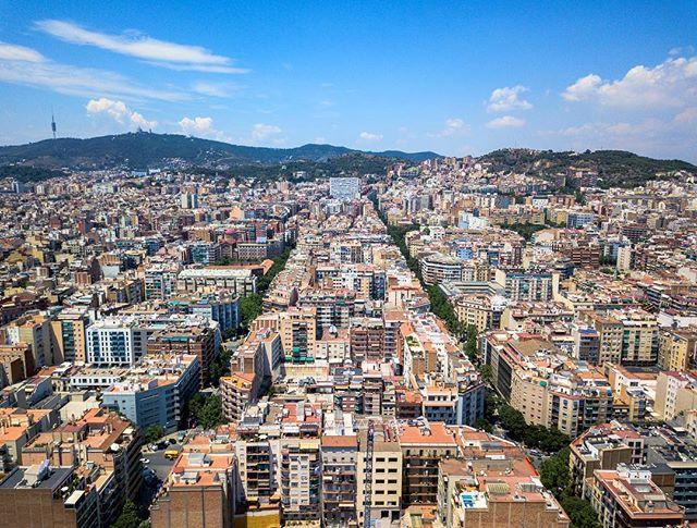 Lines - Barcelona, Spain. #barcelona #fromwhereidrone #dji #skypixel #mavicpro