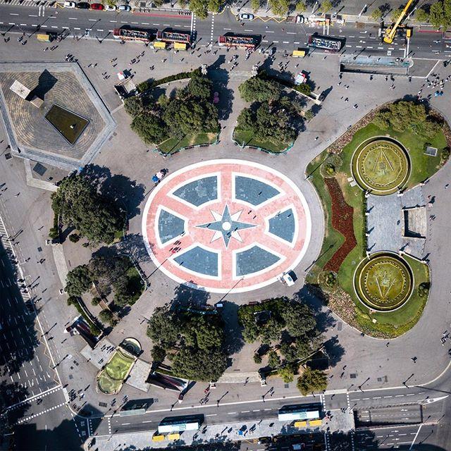 Compass - Barcelona, Spain #dji #skypixel #fromwhereidrone #spain #mavicpro
