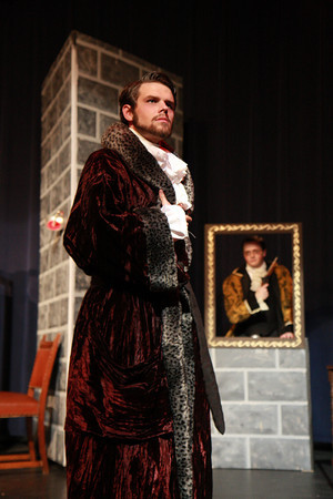 "Scott as Sir Ruthven Ruddigore in GGSS""s Ruddigore  Photo by Jonathan Zucker"