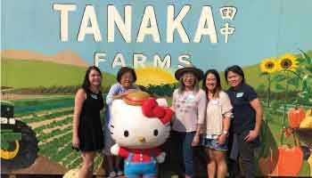 Gallery pictures of our trip to tanaka farms