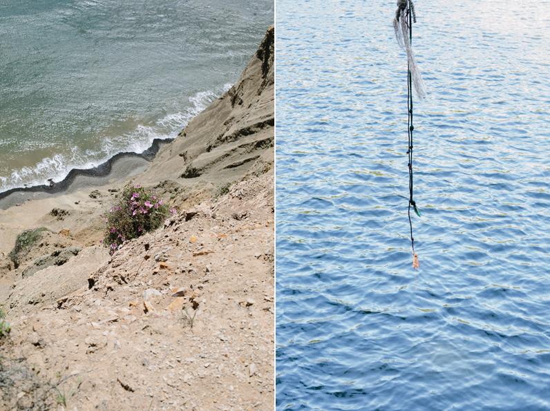 l.  Untitled , r.  Bass Lake, Bolinas