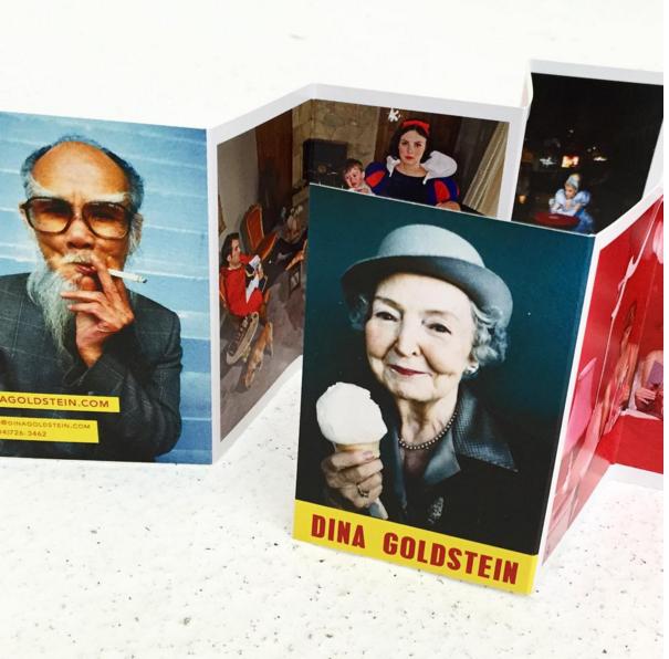 Business Card   Photo: Dina Goldstein