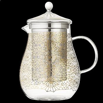 Babylon Blossoms Goldstar Teapot Large  | T2
