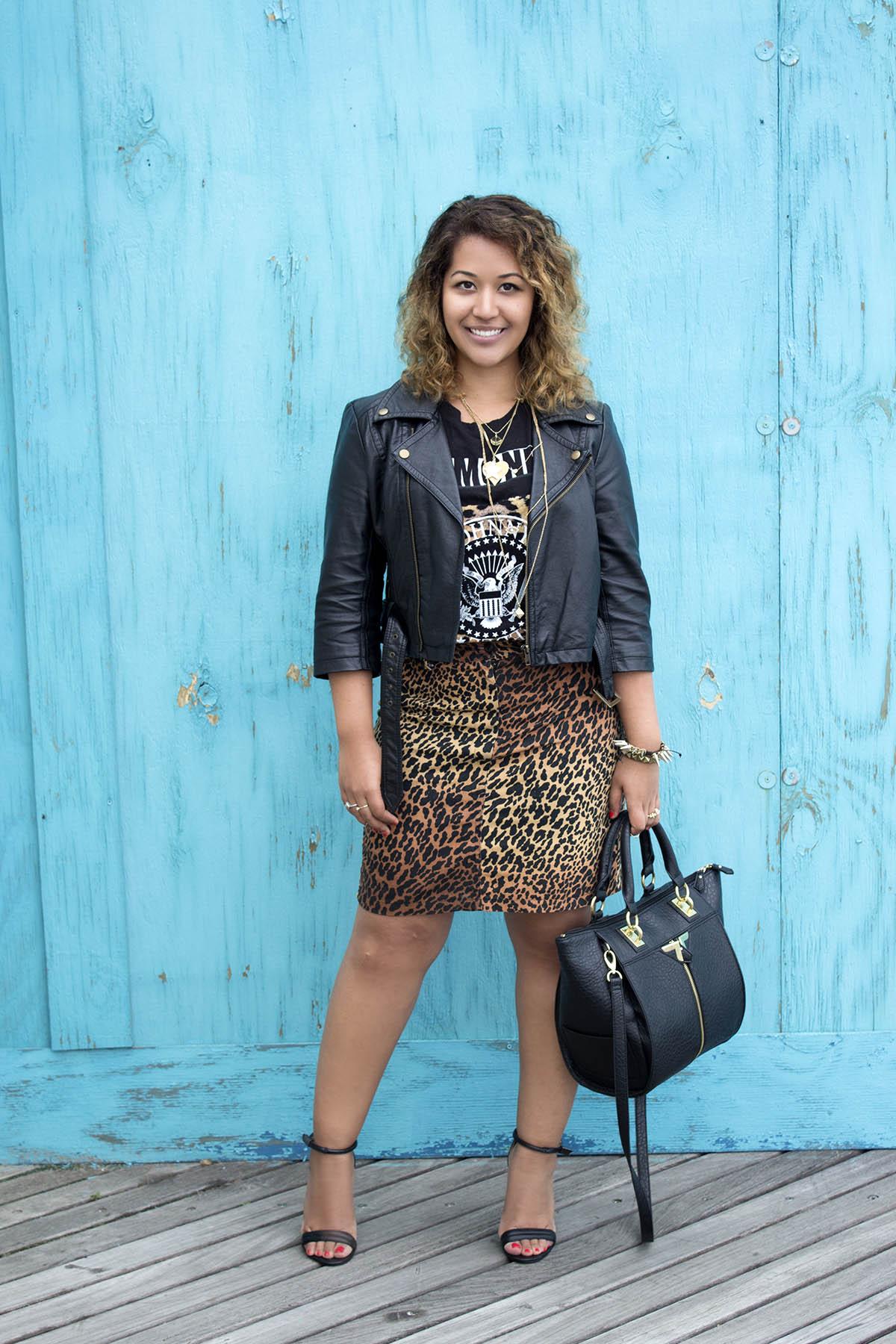 Cheetah Print Summer Look www.krityshrestha.com