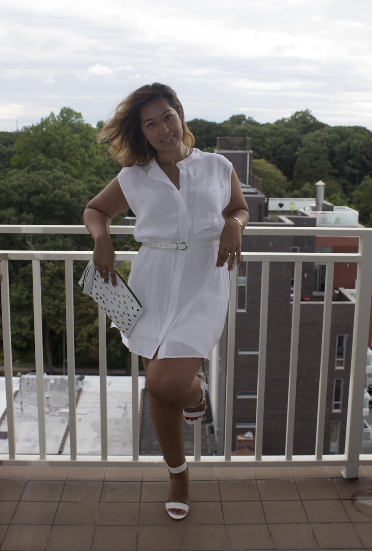 White Shirt Dress www.krityshrestha.com