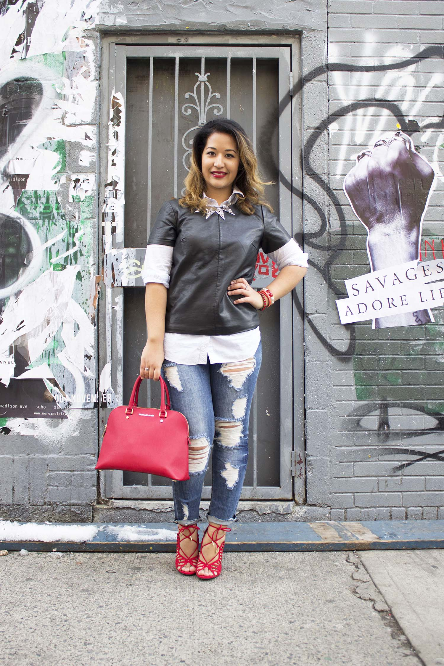 How to Layer with Leather
