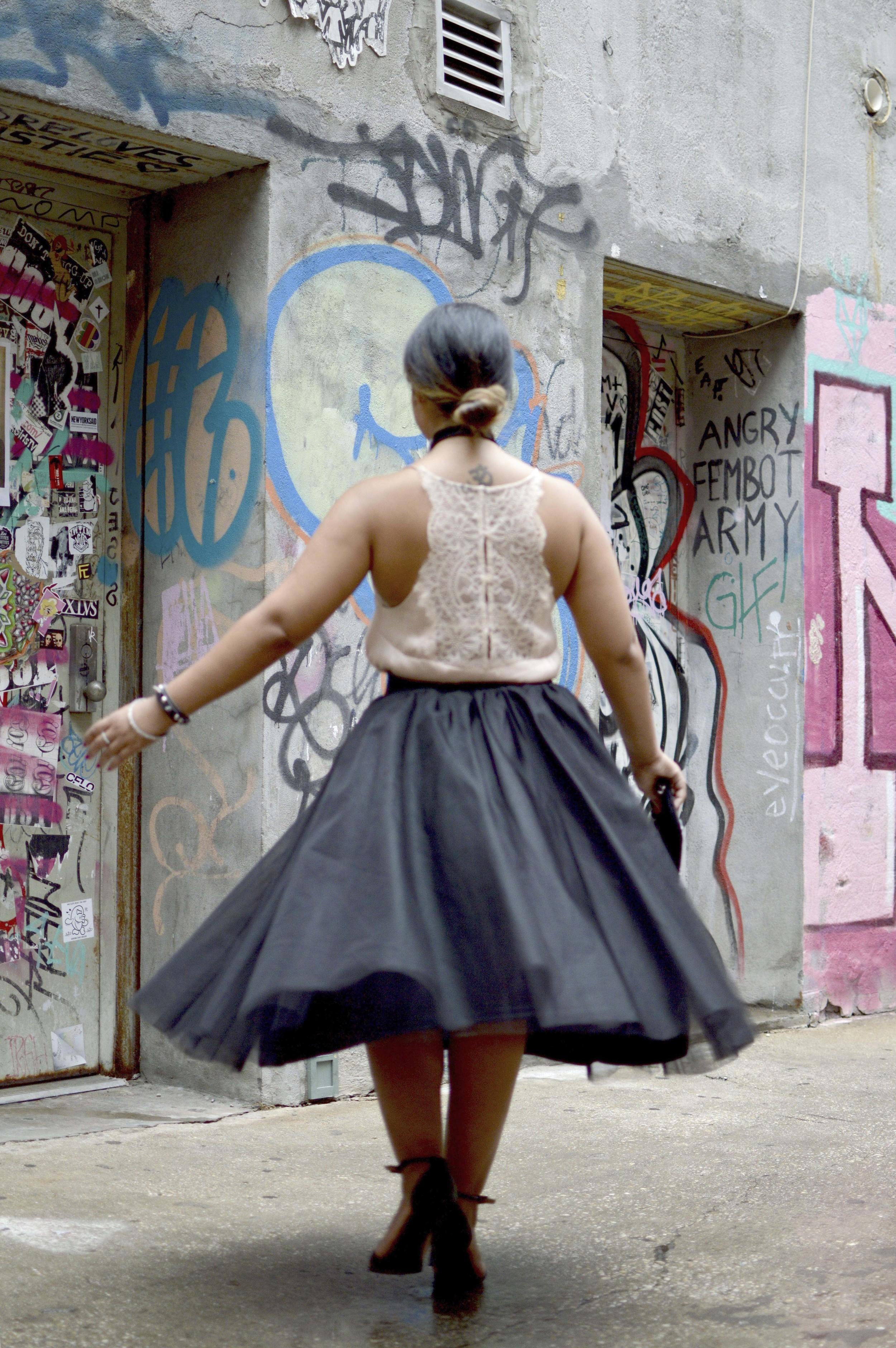 Silk Camisole 2 Ways www.kritys.com