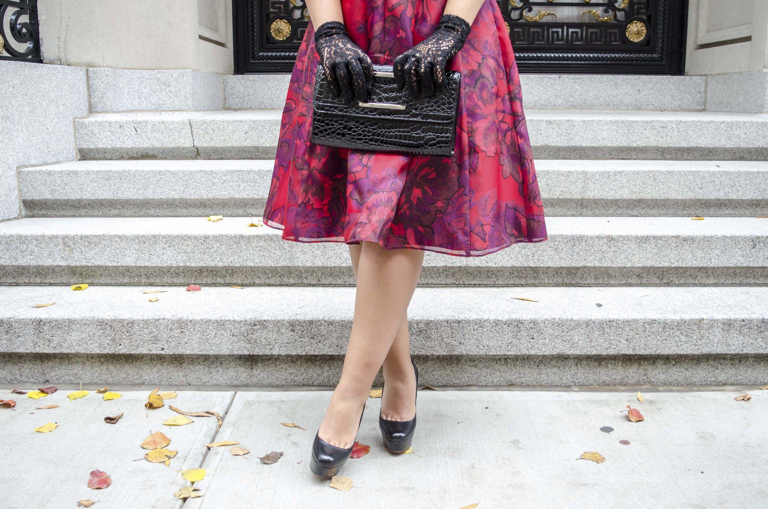 Red Printed Aidan Mattox Holiday Dress10.jpg
