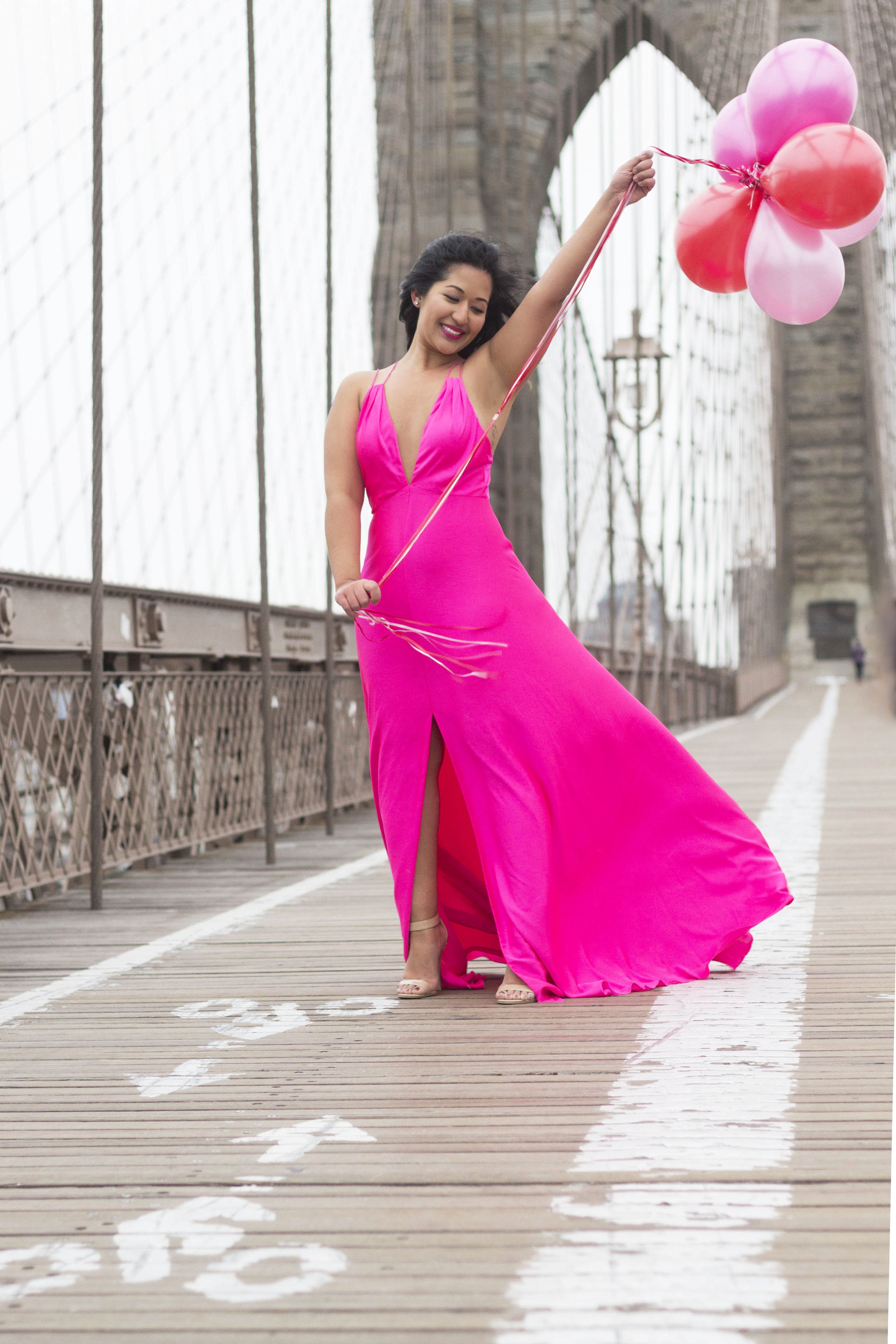 Valentines Day Pink Gown www.kritys.com