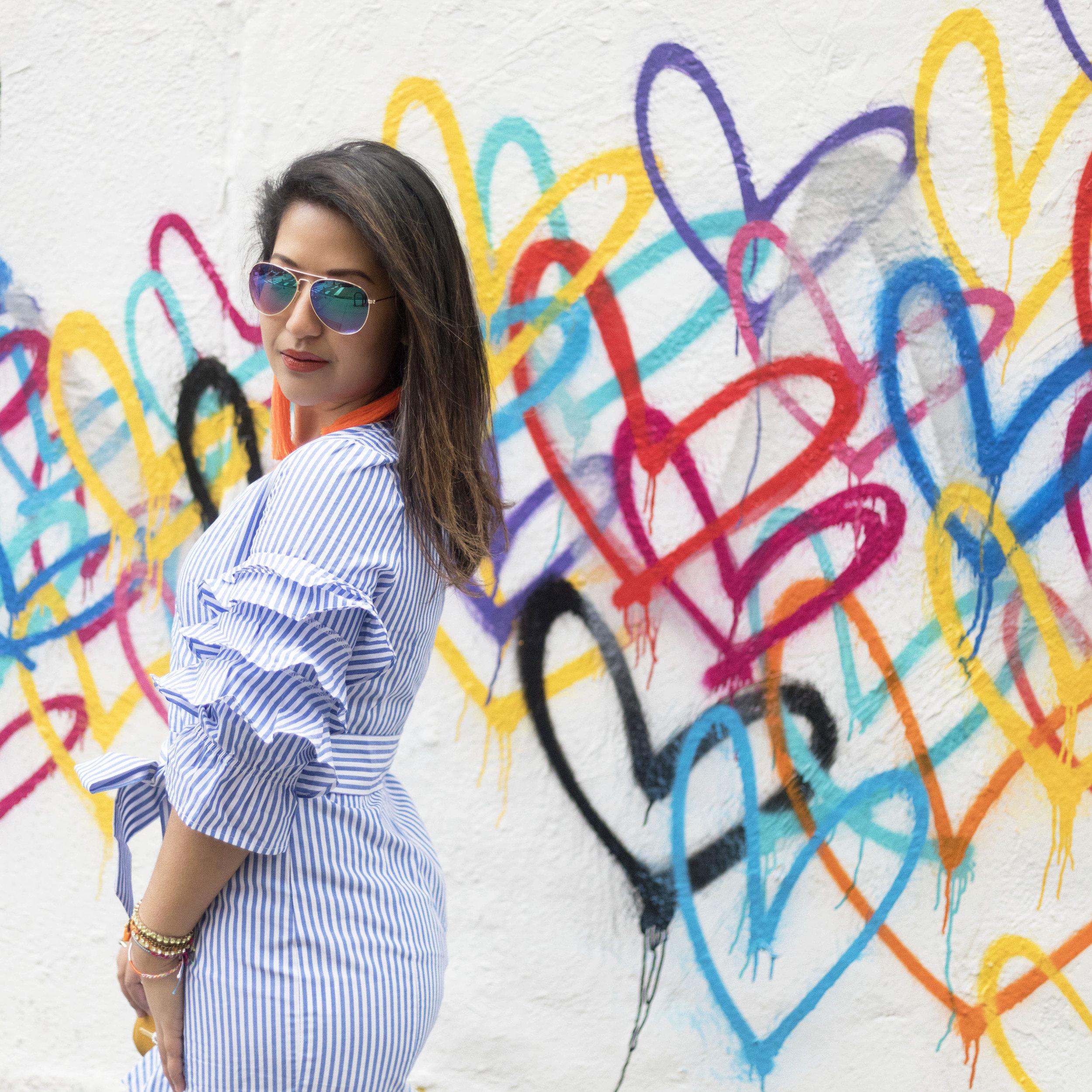 Krity S x SheIn x Stripe Spring Dress