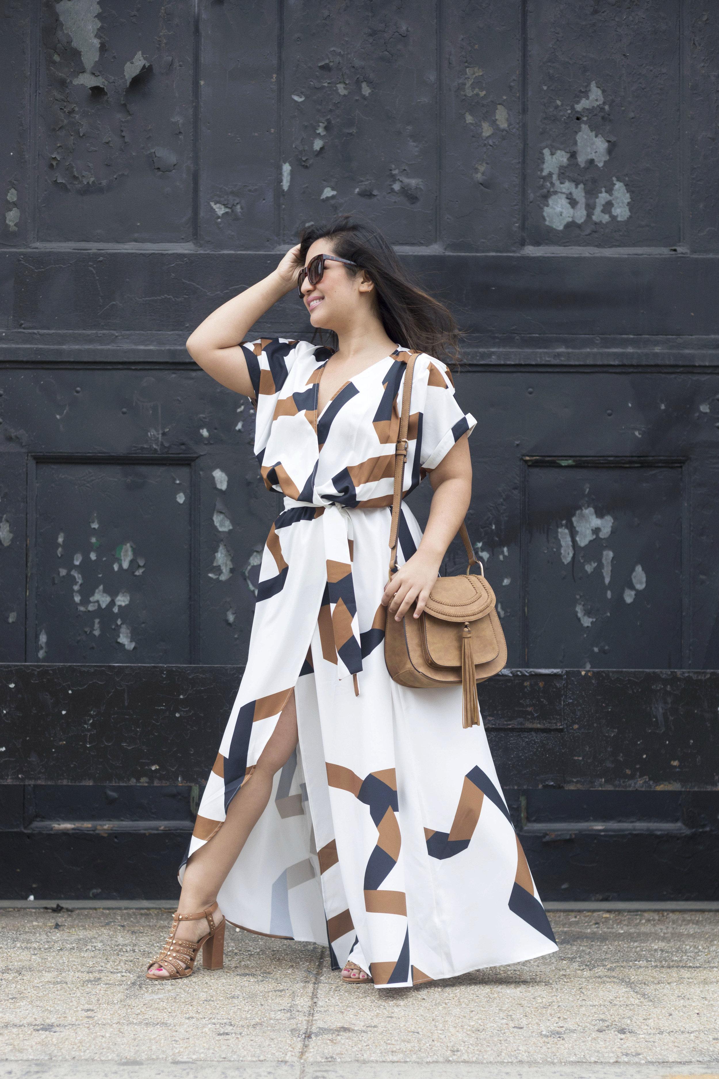 Krity S x SheIn x Maxi Dress