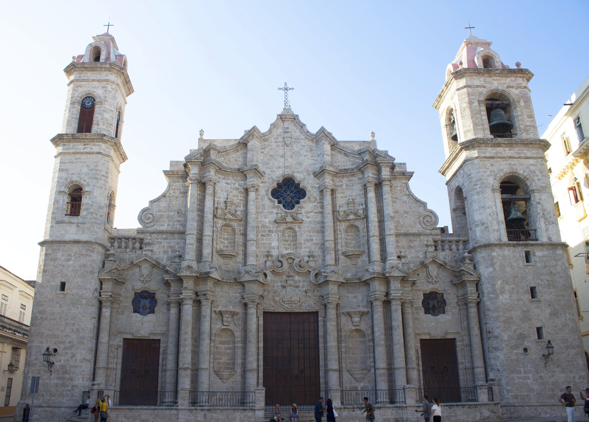 The Cathedral of San Cristóbal de la Habanal
