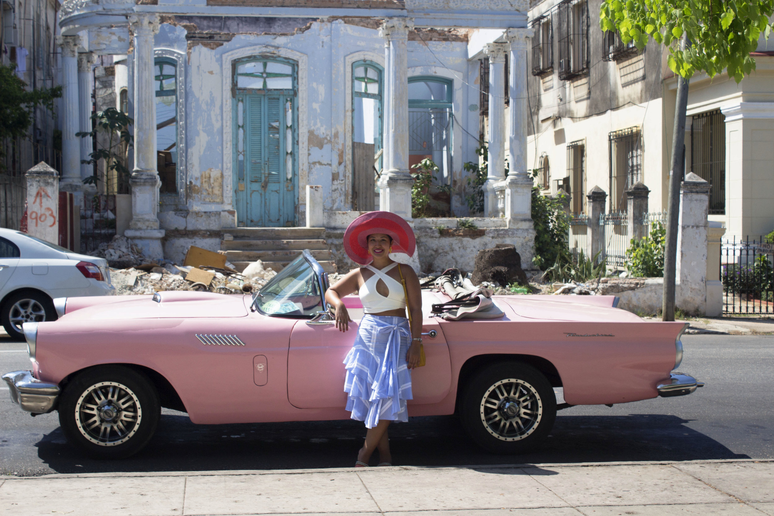 Cuba- Havana- Ride in a vintage convertible