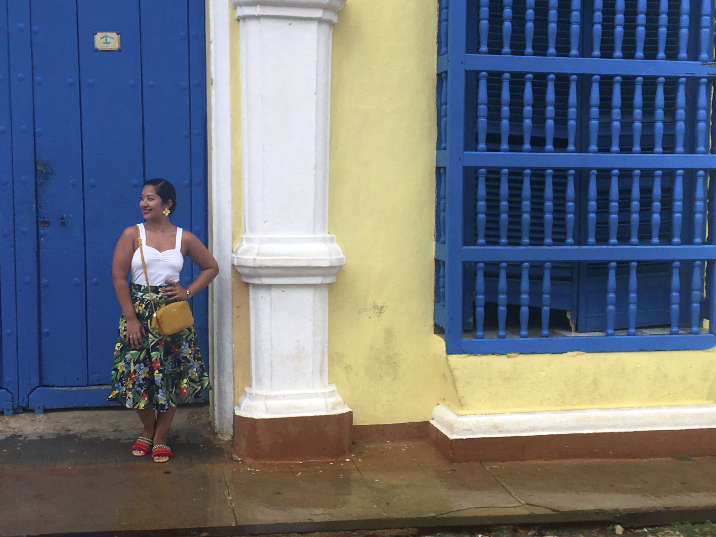 Cuba- Trinidad- Colorful streets of Trinidad