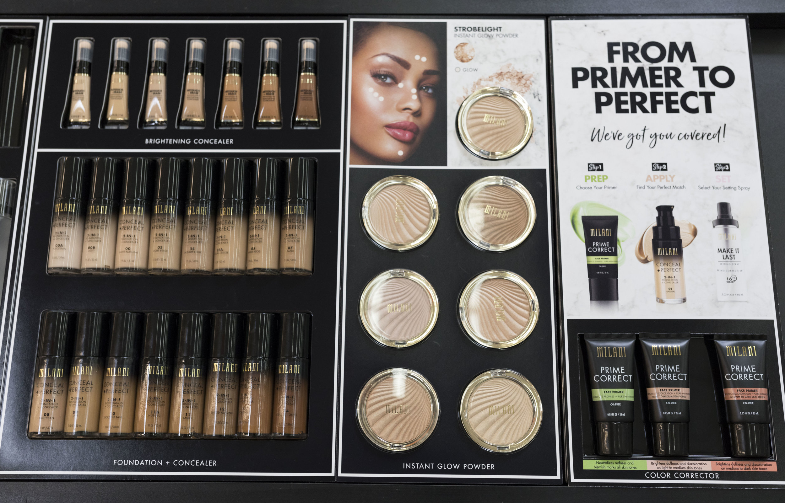 Walmart Fall Beauty Preview x Krity S x Milani Makeup