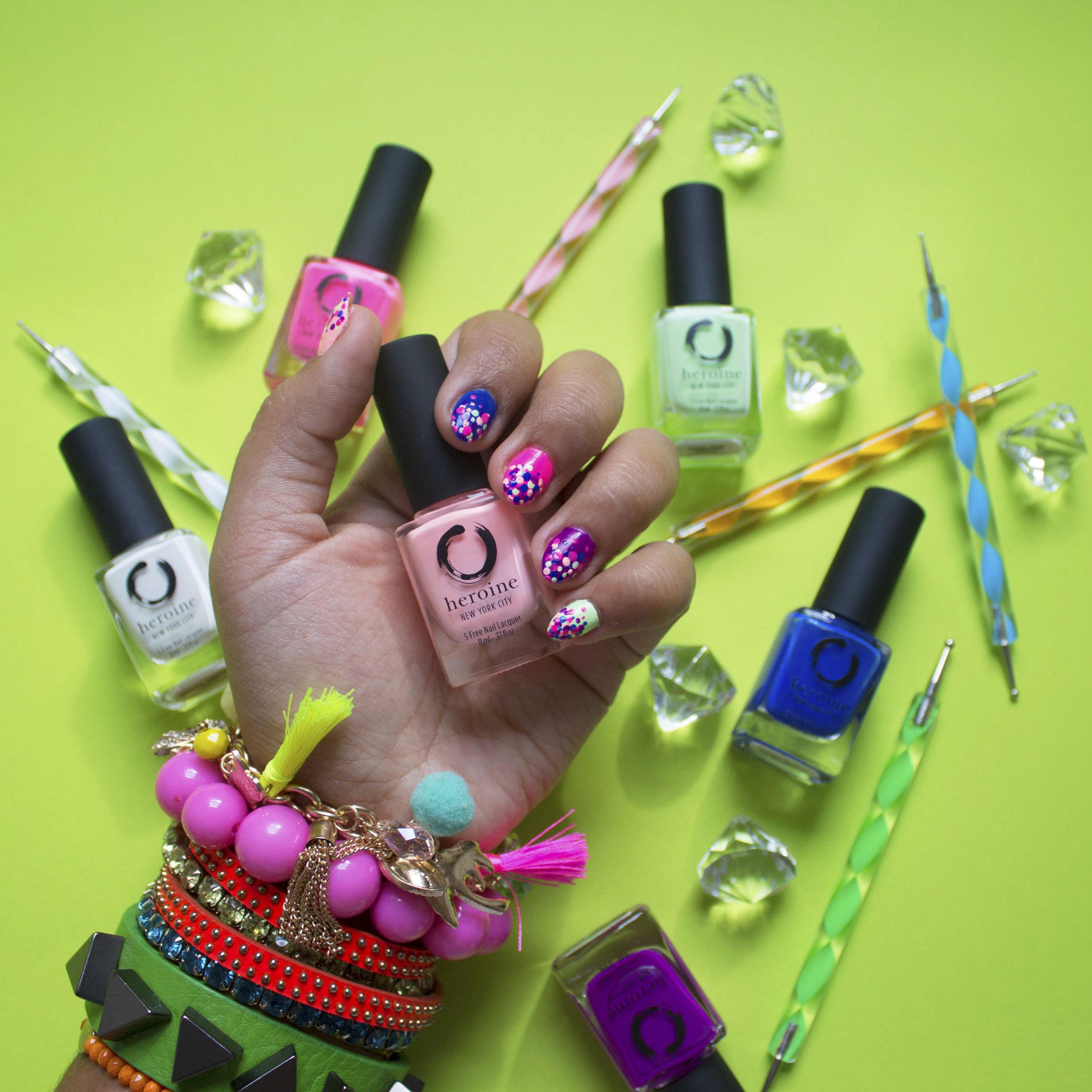 Heroine.nyc nail polish Krity S beauty