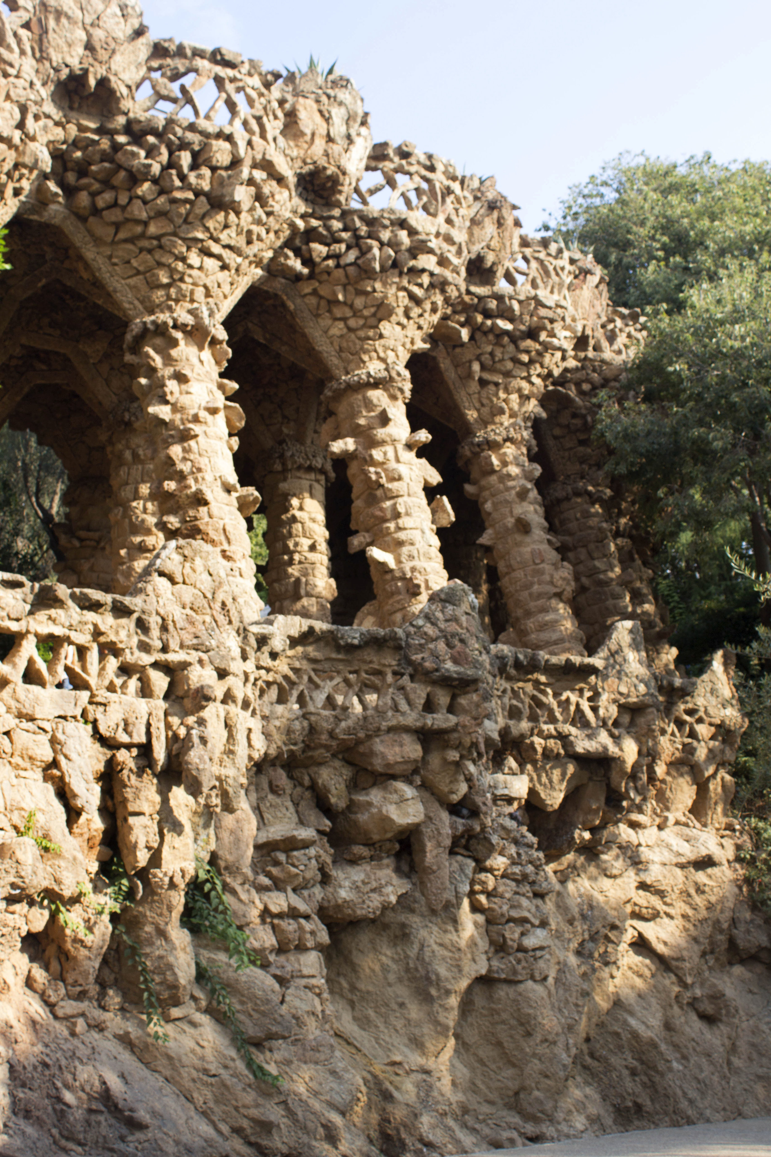 Krity S travel Barcelona Park Guell