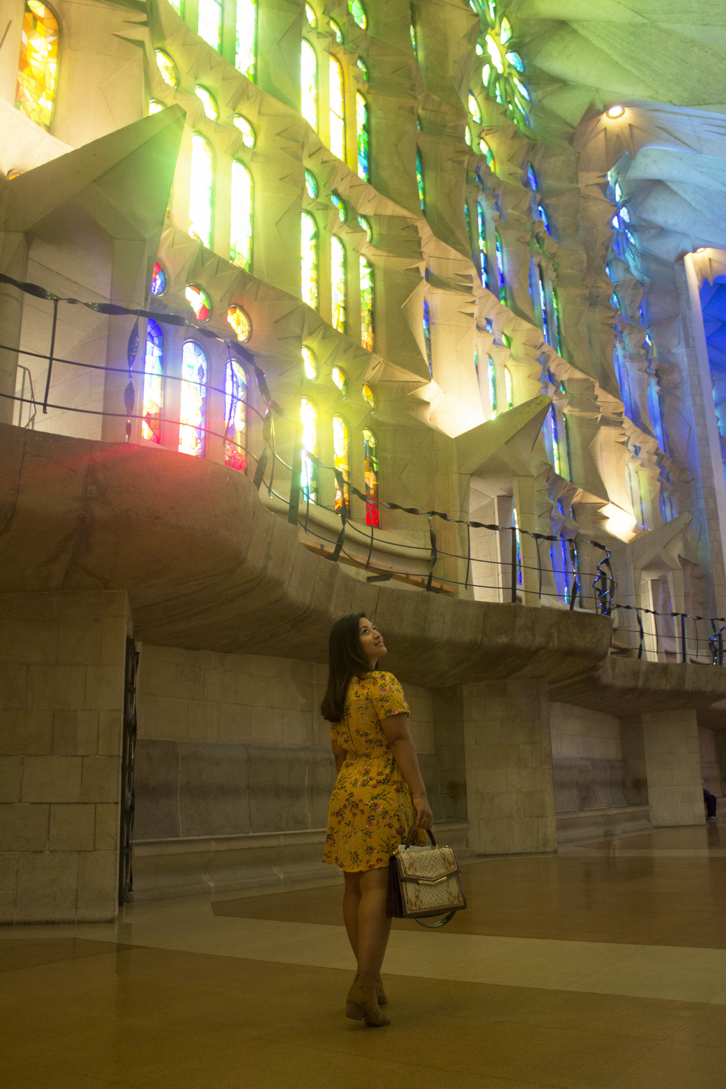 Krity S travel Barcelona La Sagrada Familia