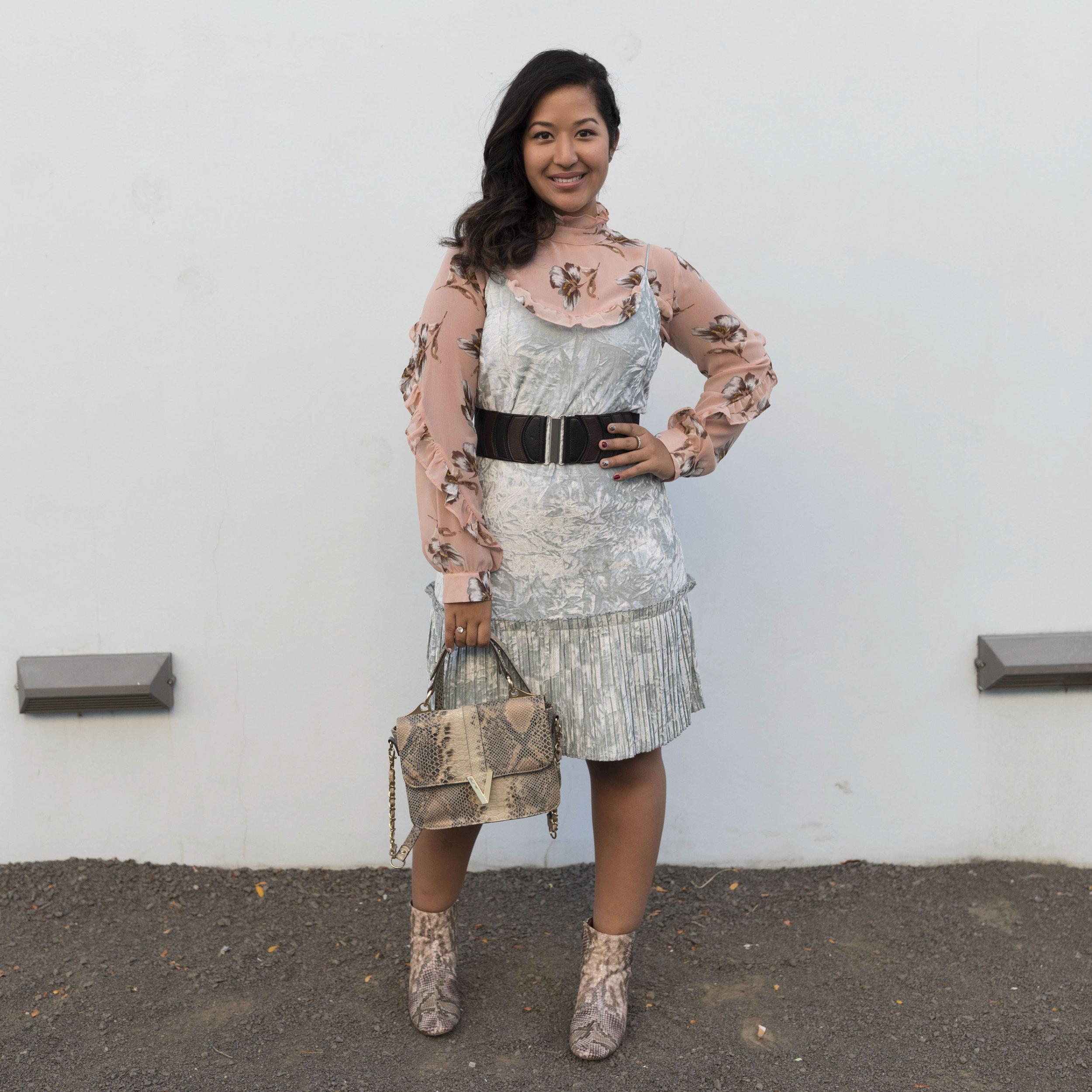 Krity S Velvet Dress
