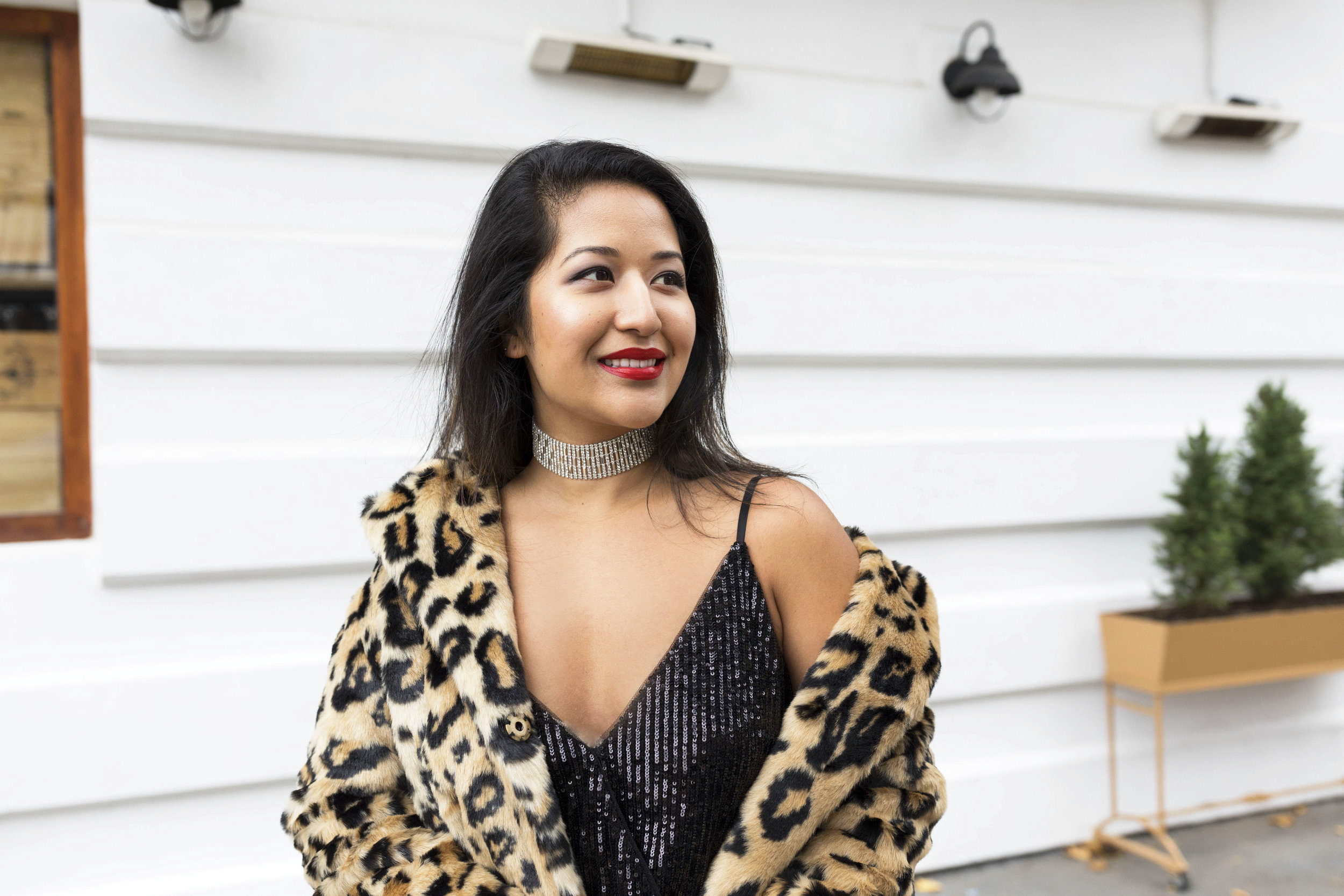 Krity S x New Years Eve Outfit x Sequin Jumpsuit and Cheetah Faux Fur4.jpg