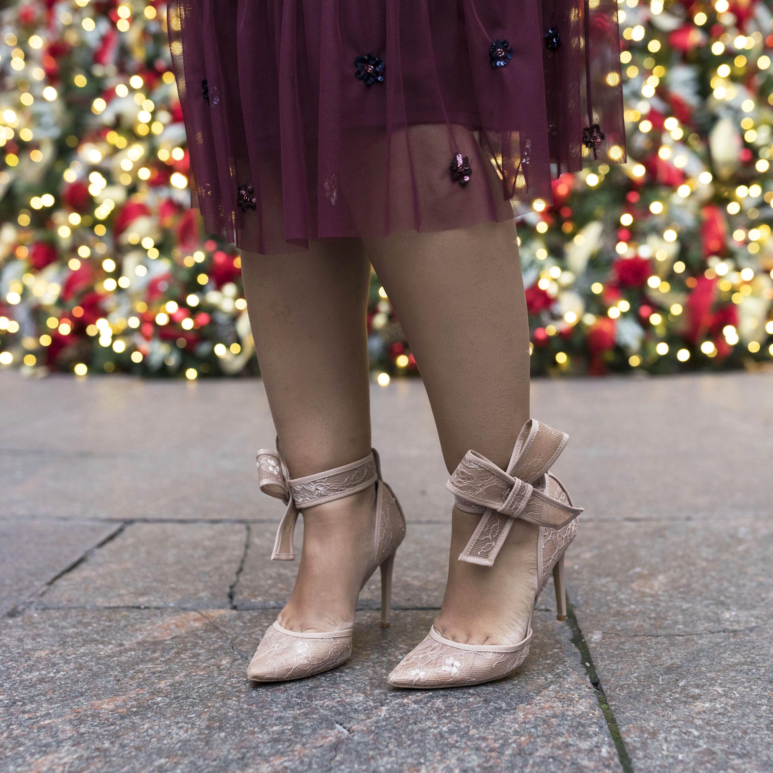 Krity S x Holiday Outfit x Aidan Beaded Burgundy Short Dress14.jpg