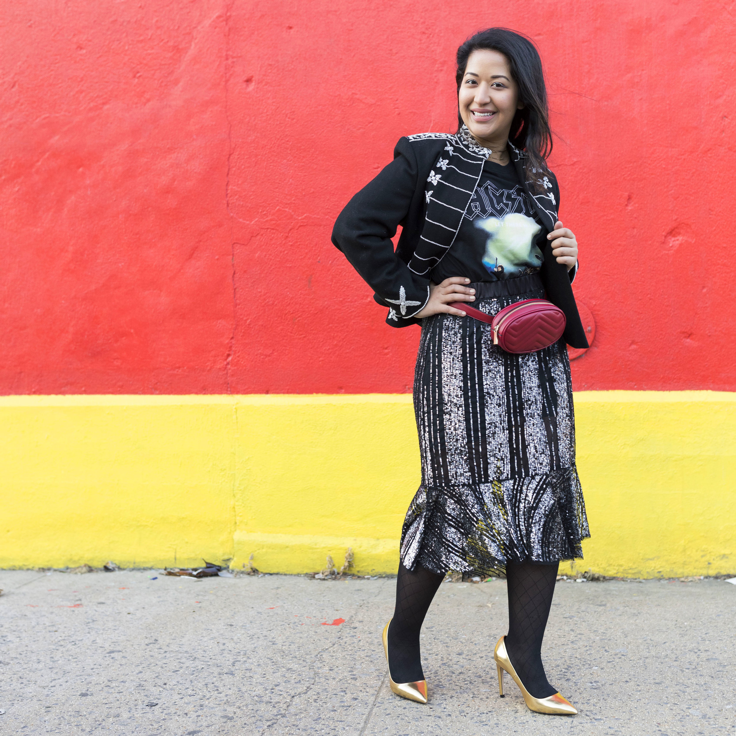 Krity S How to wear a fanny pack belt bag