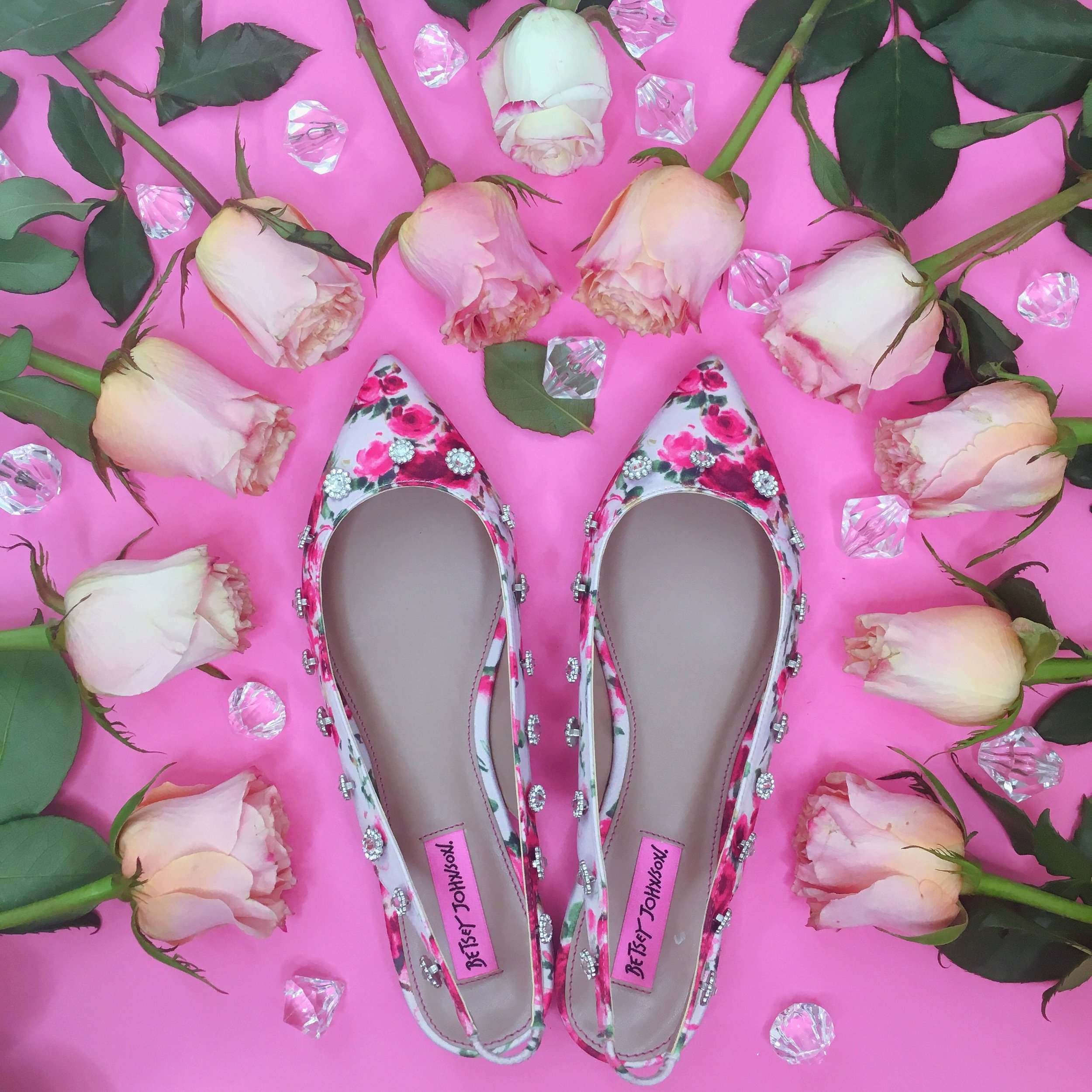 Floral Flats Betsey Johnson Spring Shoes