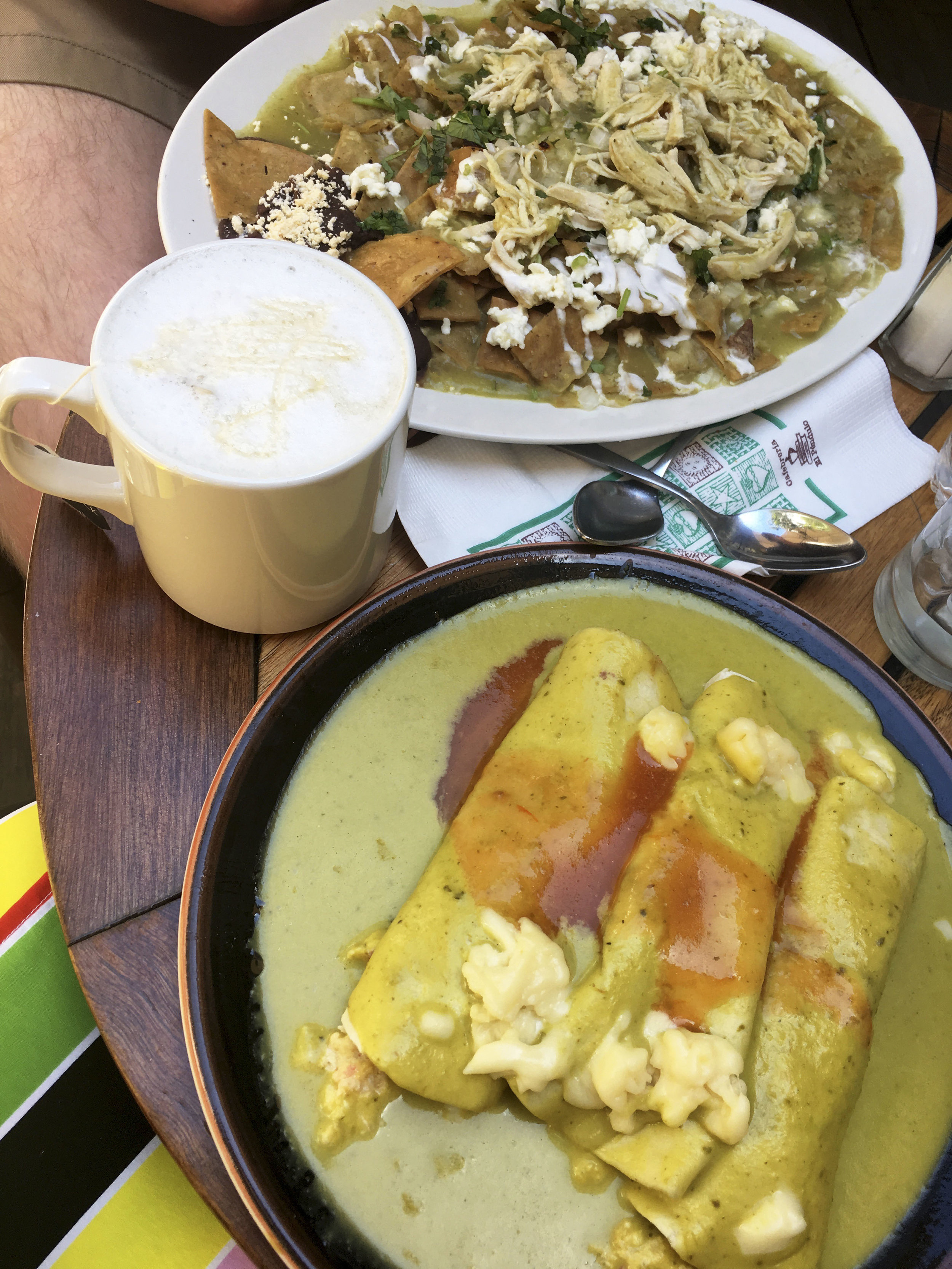Krity S Mexico City Breakfast