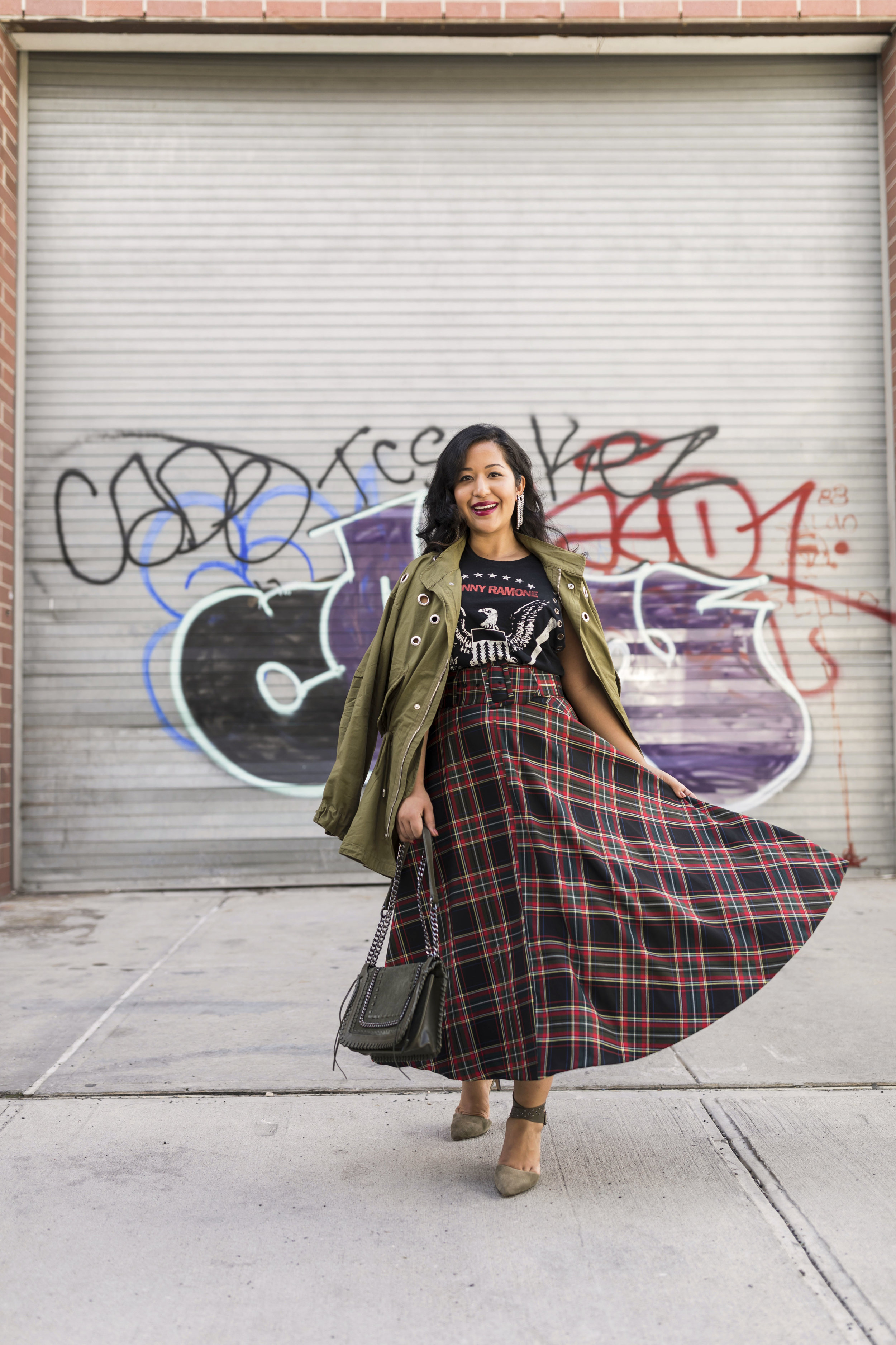 PLAID PUNK - Mixing plaid with punk influences