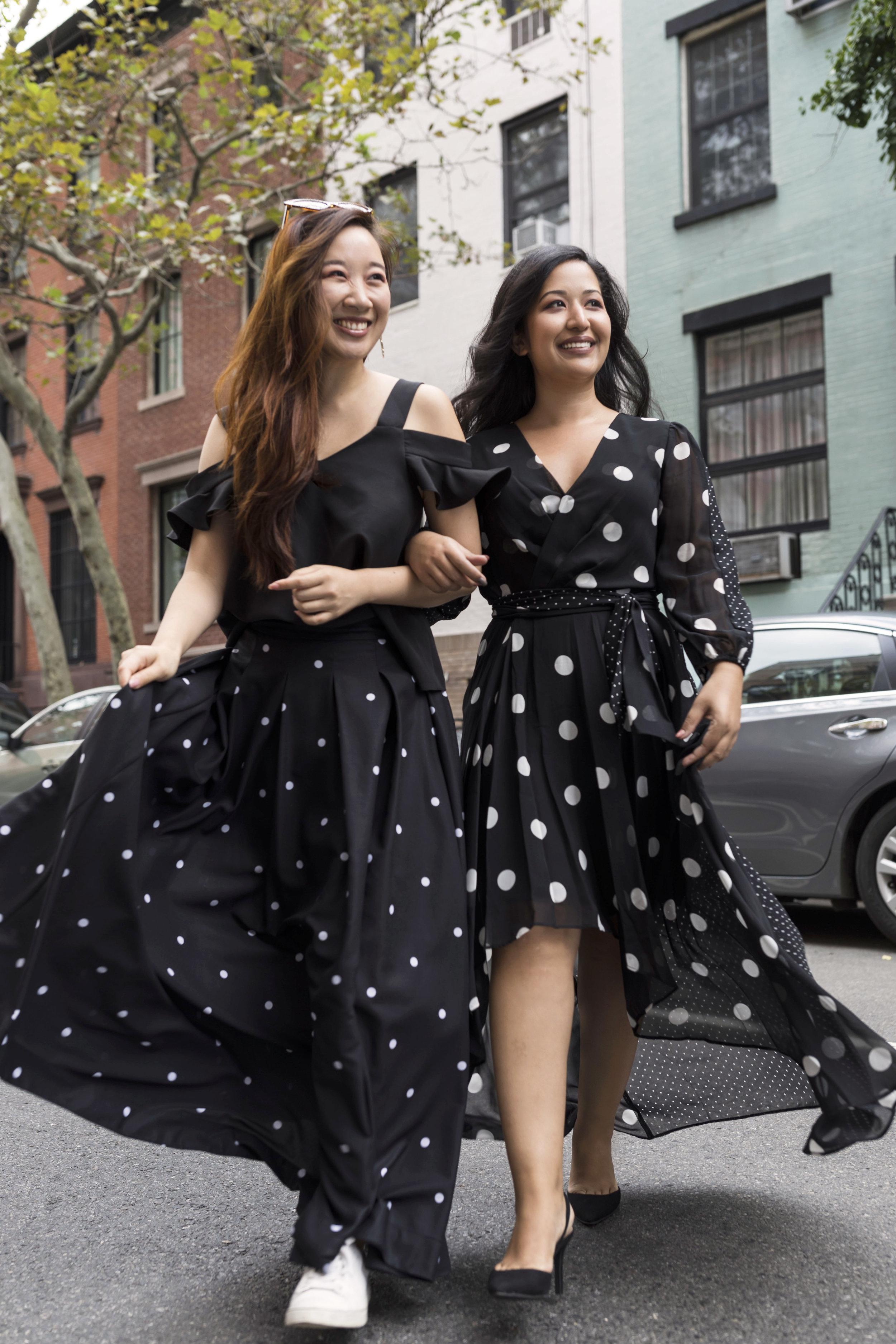 Krity S Fall Trends Polka Dot Dress