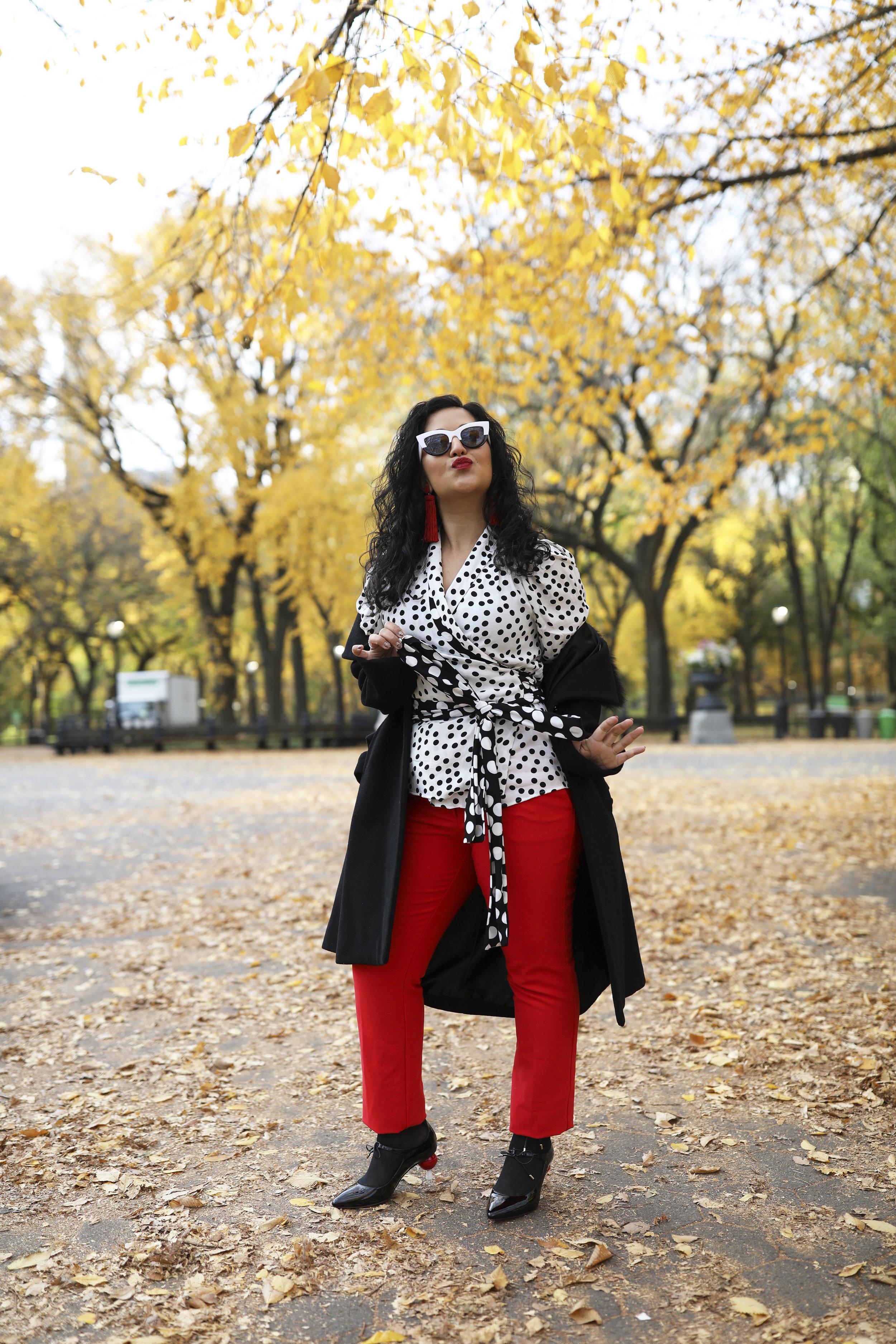 Krity S x Fall Work Outfit x Polka Dot5.jpg