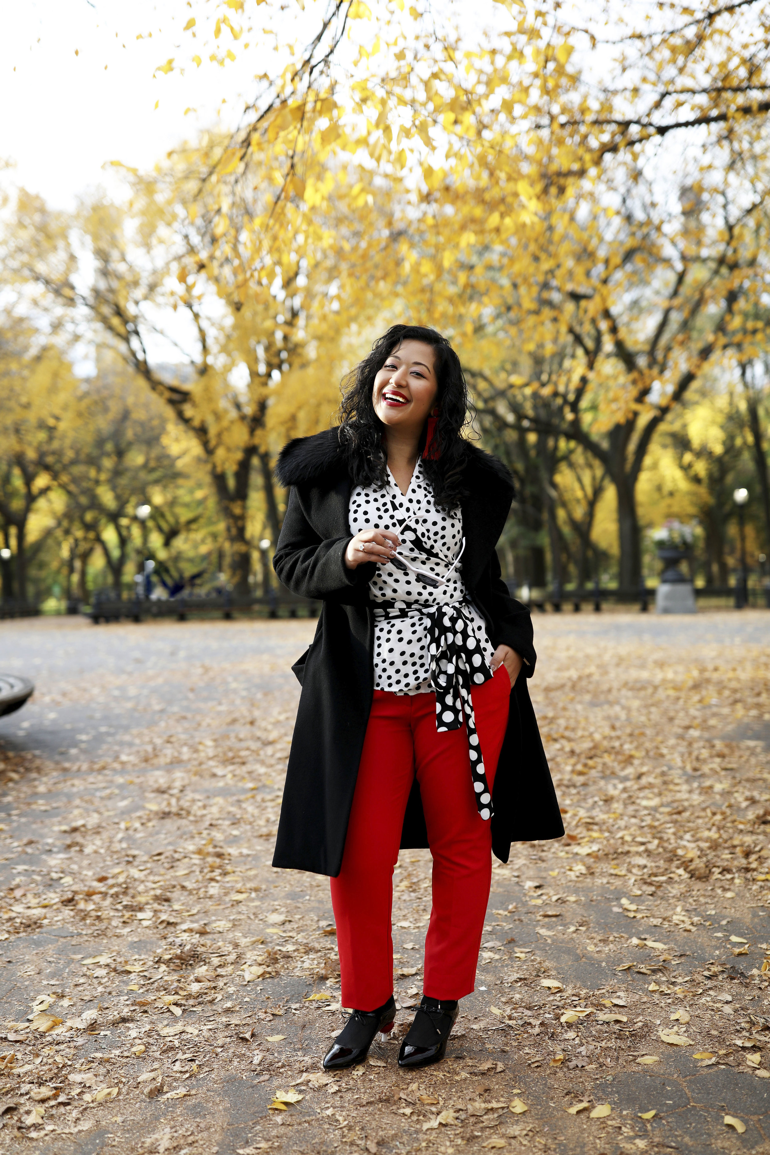 Krity S x Fall Work Outfit x Polka Dot9.jpg
