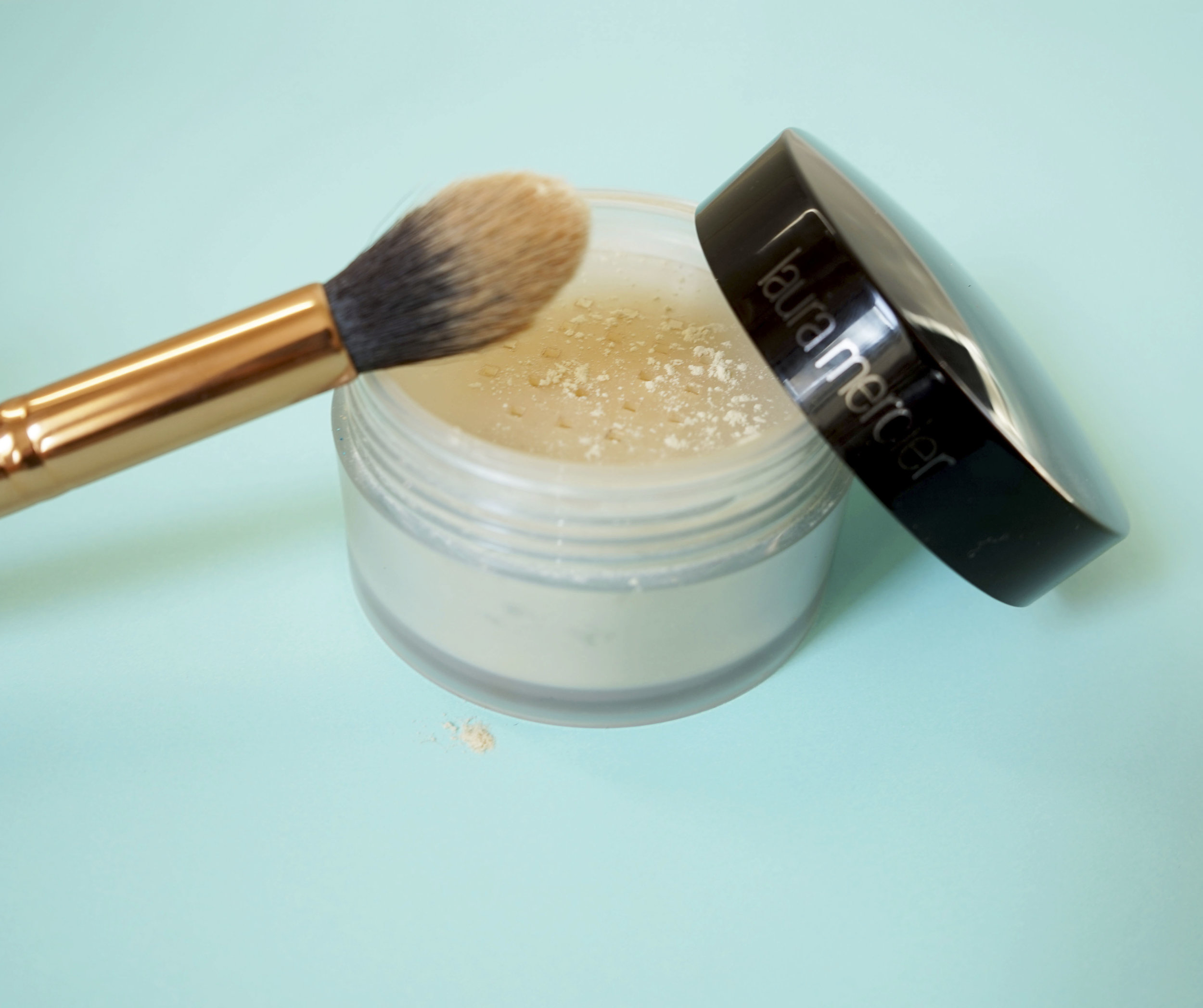 17. Concealer- - Does your under eye concealer crease?Well I've got a solution! After you use concealer, apply translucent powder with a makeup brush. This makes a hugeeee difference and it also helps make the look feel more natural.