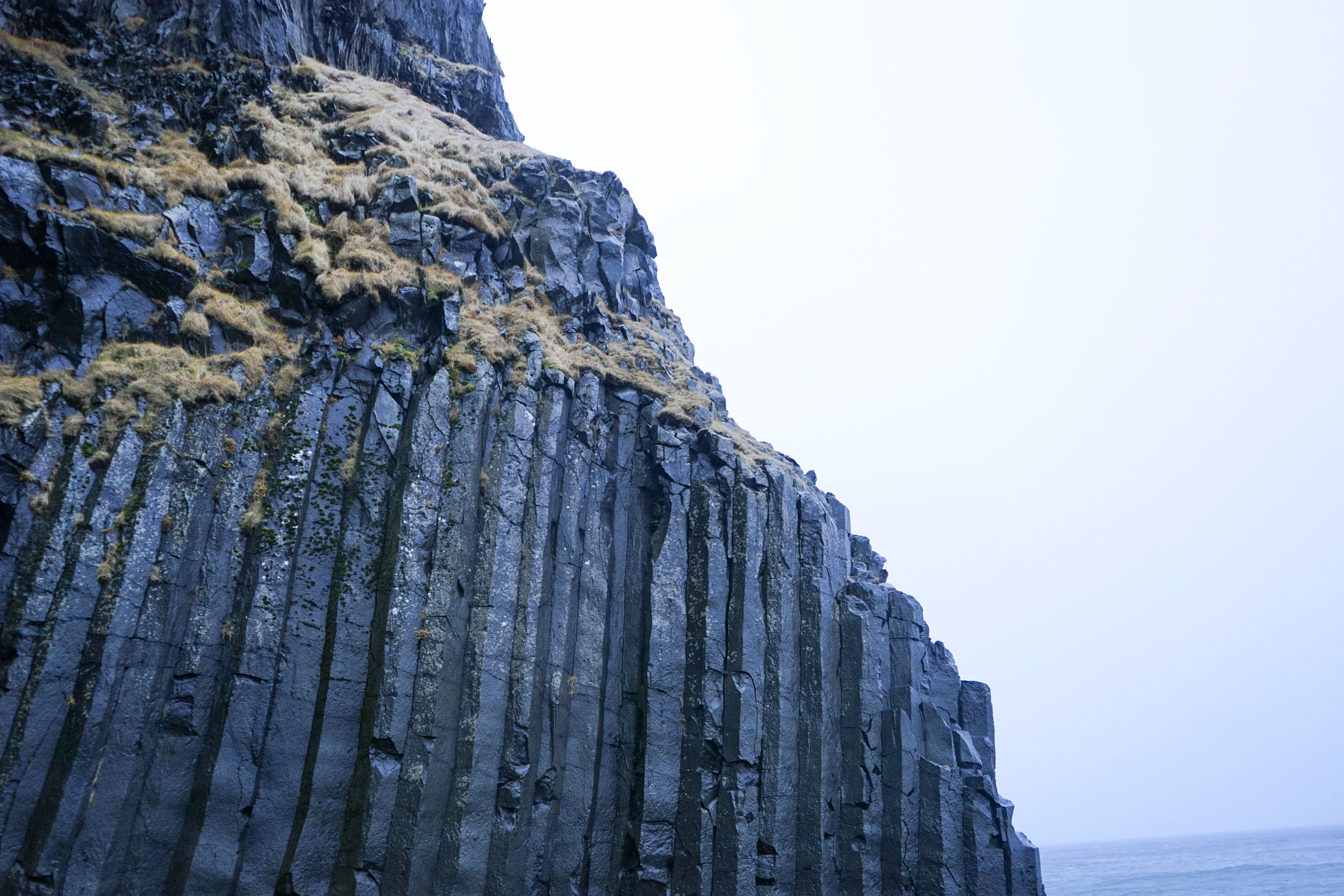 Reynisfjara Beach black sand beaches in Iceland cliffs