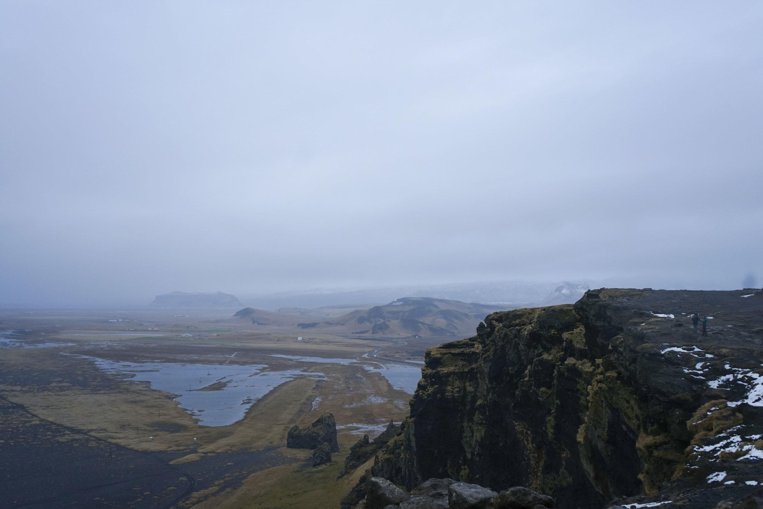 Dyrhólaey Iceland View Ocean