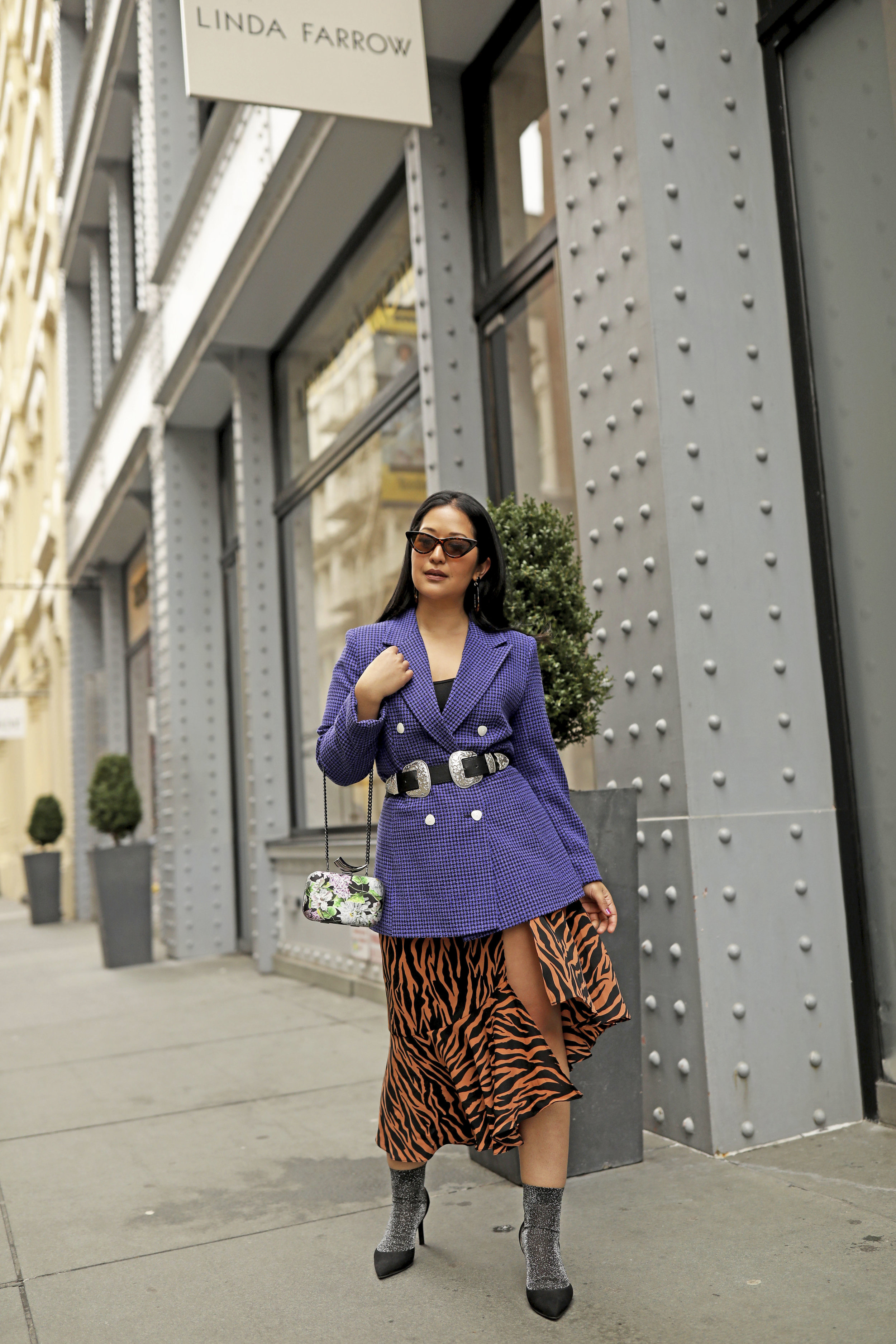 Purple Blazer Outfit Zebra Print Spring Trends_2.jpg