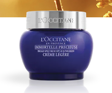 L'Occitane SPF cream
