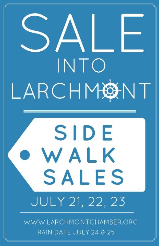 larchmont chamber 10538 sidewalk sale