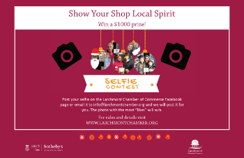 Larchmont chamber of commerce selfie contest