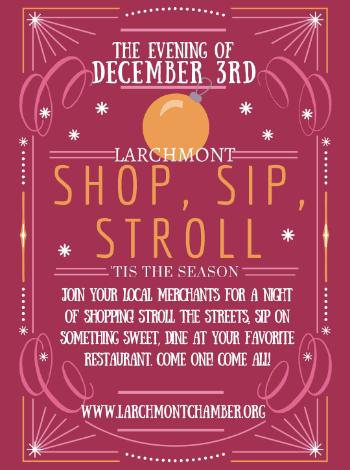 shop sip stroll larchmont