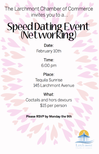 speed dating network event