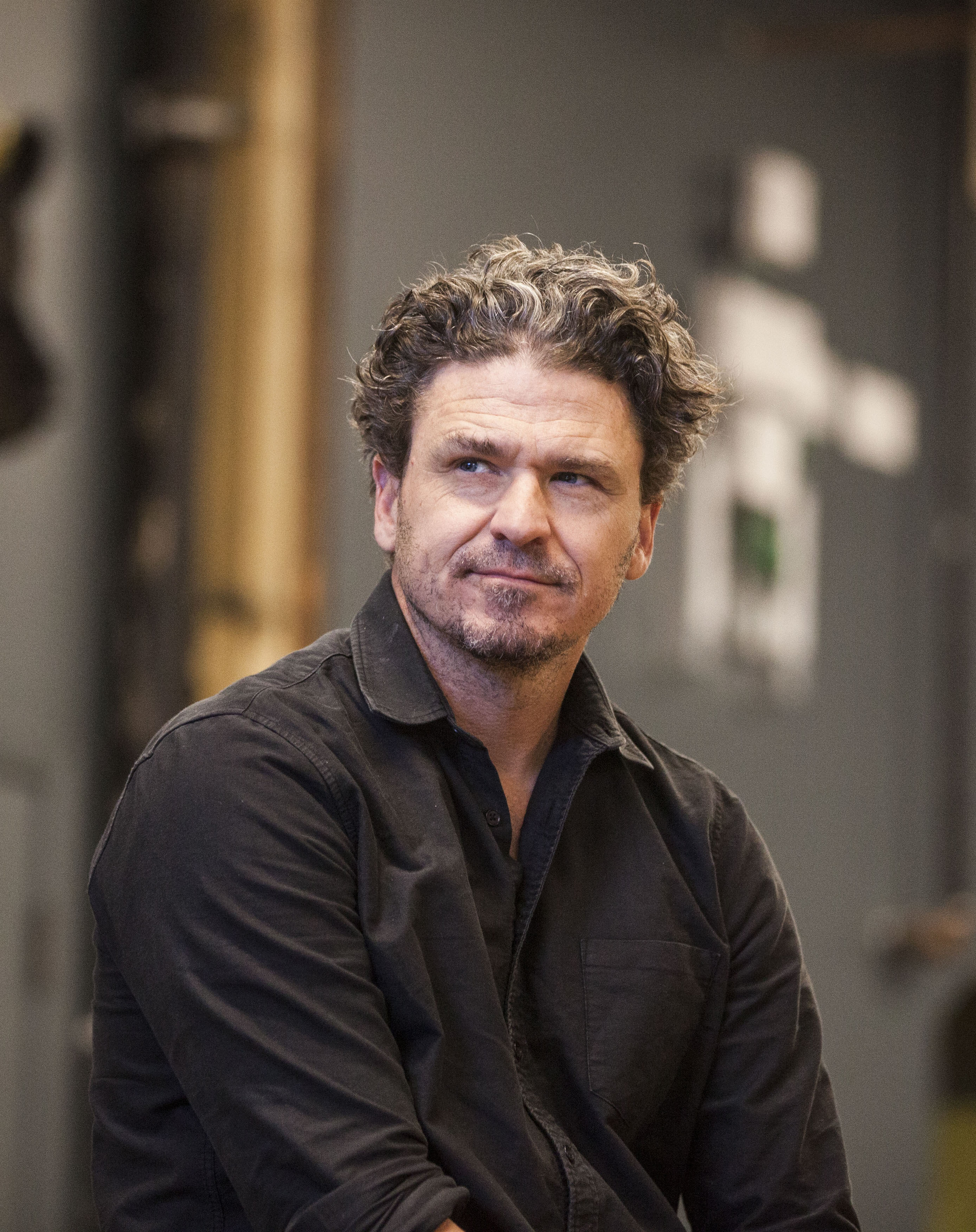 Author Dave Eggers for The Globe & Mail