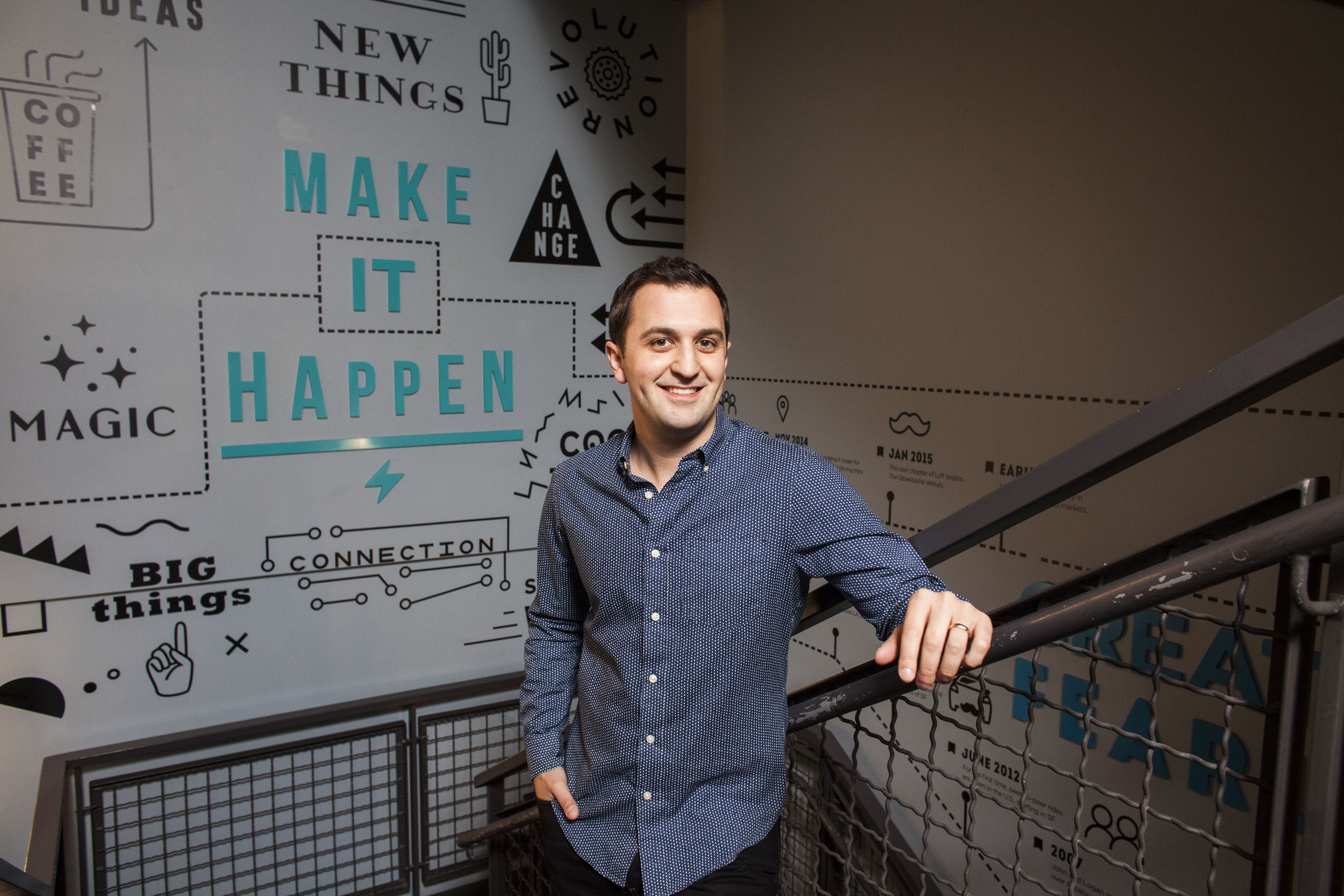 Lyft President & Founder John Zimmer for The New York Times