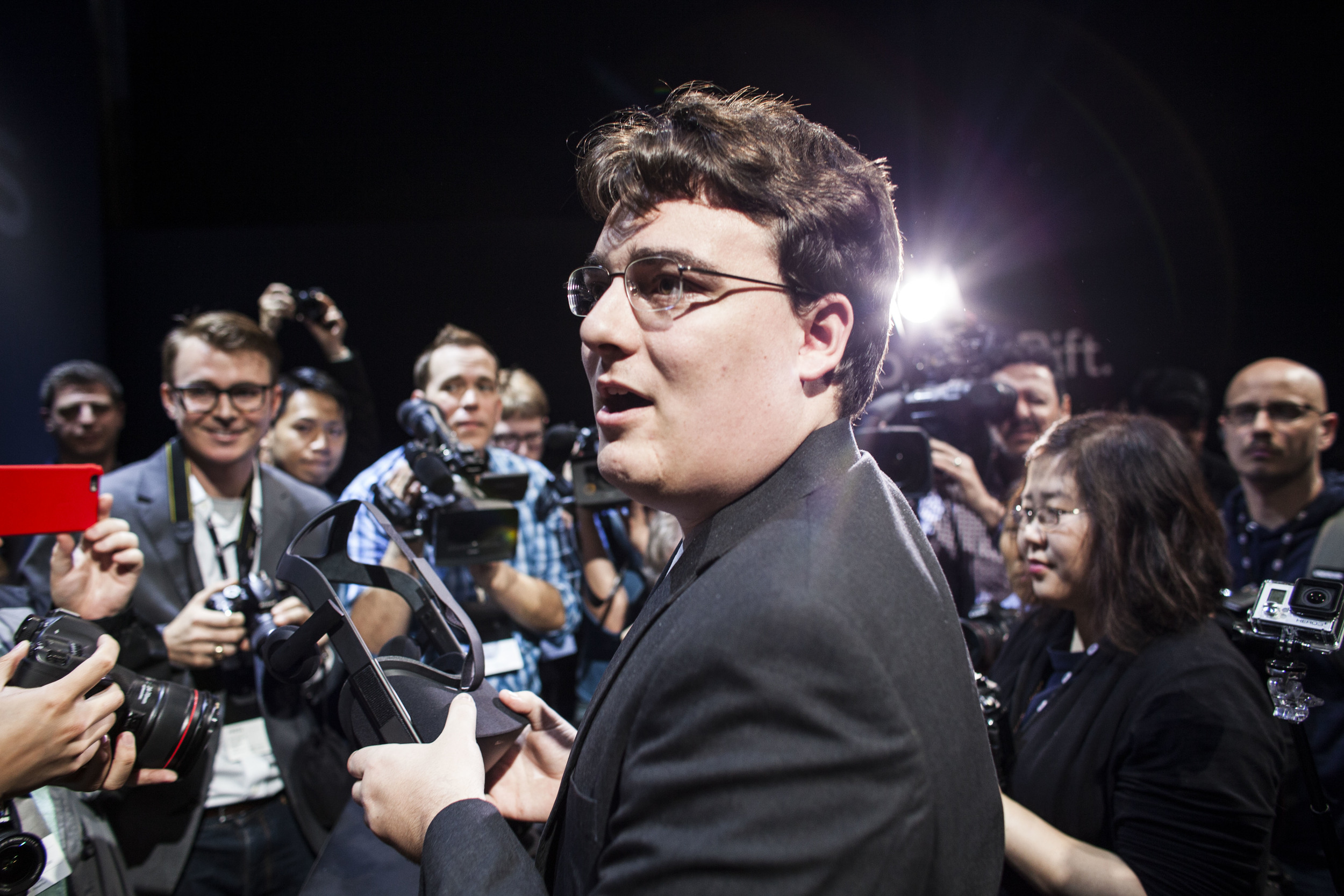 Lucky Palmer, Founder of Oculus VR for The New York Times